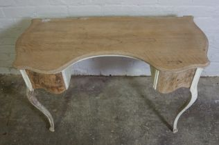 Antique French style Painted Dressing Table, 66cm high, 105cm wide, 52cm deepCondition