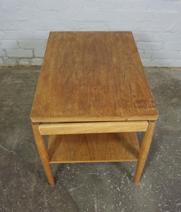 Retro Teak Table, 53cm high, 75cm wide - Image 4 of 4