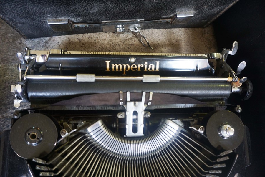 Imperial Typewriter - Image 3 of 4