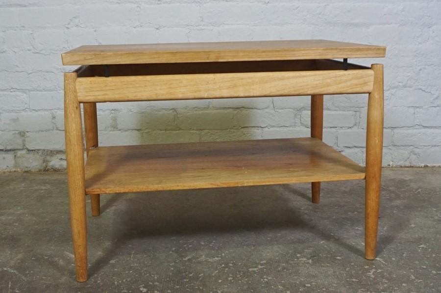 Retro Teak Table, 53cm high, 75cm wide