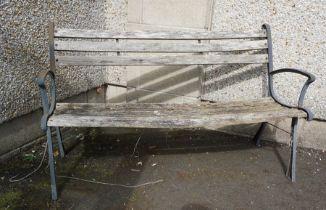 Garden Bench, 75cm high, 127cm wide