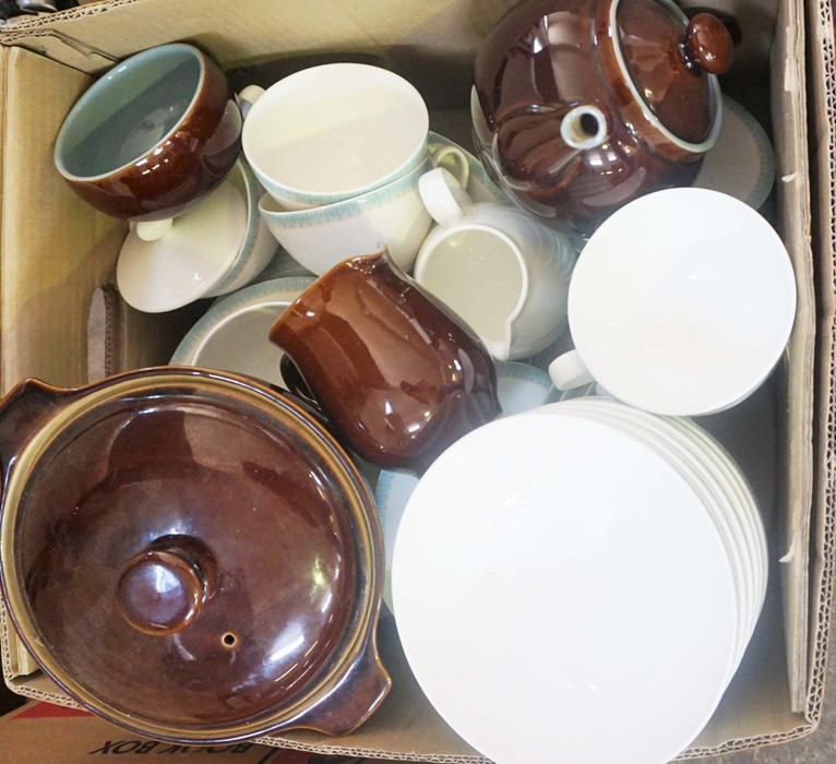 Box of Assorted Denby Dinner and Table Wares - Image 3 of 3