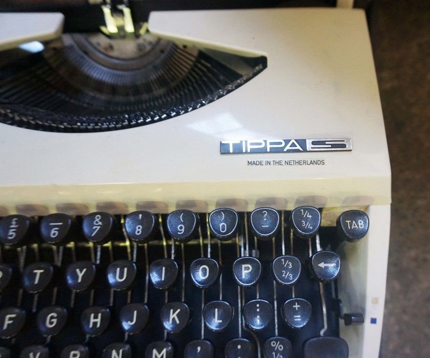 Adler Typewriter, With a Consul Typewriter, (2)Condition reportSold as seen, Not tested - Image 2 of 3