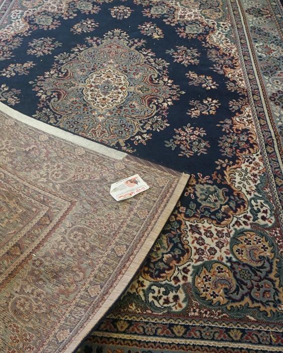 Indian style Machine Made Carpet, 333cm x 235cm - Image 3 of 3