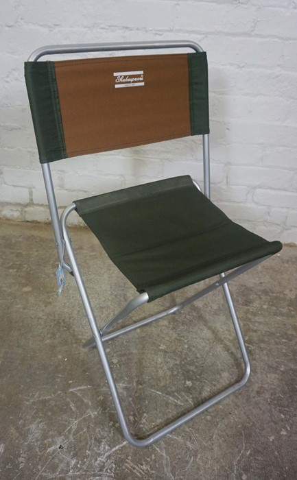 Three Folding Fishermans Chairs by Shakespeare and Airflo, Largest 81cm high, (3) - Image 3 of 5