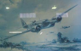 """Blenheim MK IV, A Bleinheim Will Fly Again"" Signed Limited Edition Print, No 190 of 850, 39cm x"