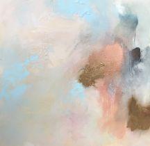 Martin Irish (British, B.1964), Returning To A Place Half Remembered, mixed media on canvas,