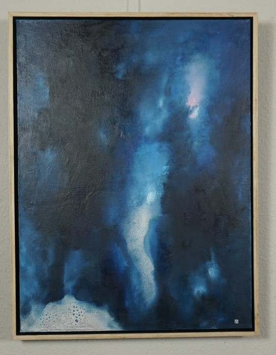 Martin Irish (British, B.1964), Dreaming Of Angels, mixed media on canvas, signed lower right, - Image 3 of 9