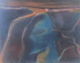 Lida Hatrick M.A.(Hons) M.Sc.(British, B.1948), Moor Road to Gifford at Dusk, oil on canvas,