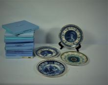 Quantity of Boxed and Loose Wedgwood Picture Plates