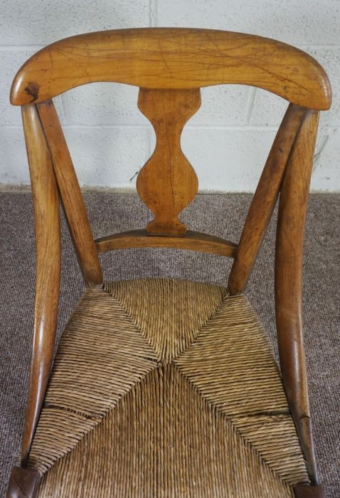 Childs Wicker Chair, made in Mellerstain 1965 - Image 3 of 5