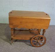 Canadian Tea Trolley, Pine tea trolley circa 1860s,L-80cms approx.,H 72cms approx.,W 50cms