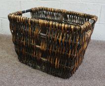 Wicker Basket, 14cm high