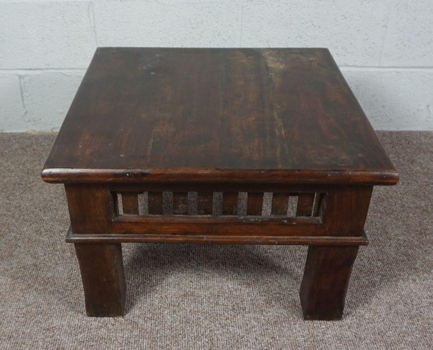 A Modern Teak Coffee Table