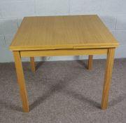 Modern Extendable Pine Table