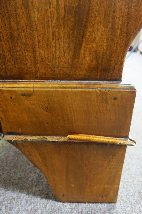 Hardwood King Size Bed,Having side rails and slats,Larger bed end 90cm high, 191cm wide - Image 3 of 6