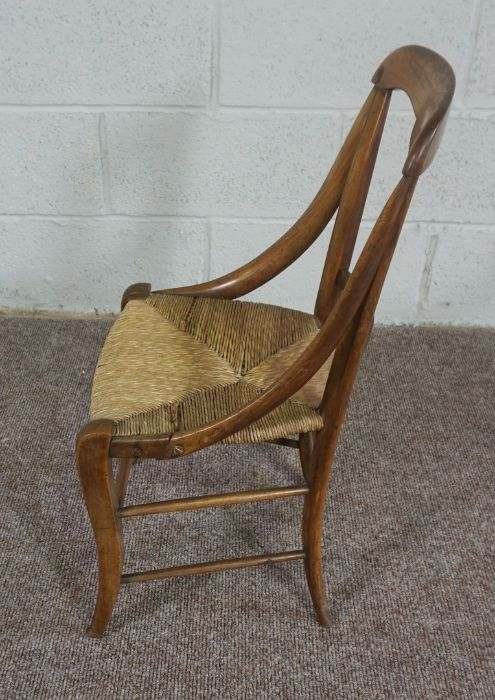 Childs Wicker Chair, made in Mellerstain 1965 - Image 4 of 5