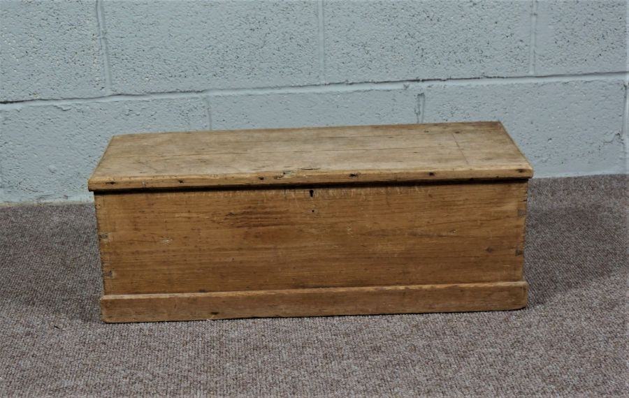 Small Pine Chest Of rectangular form