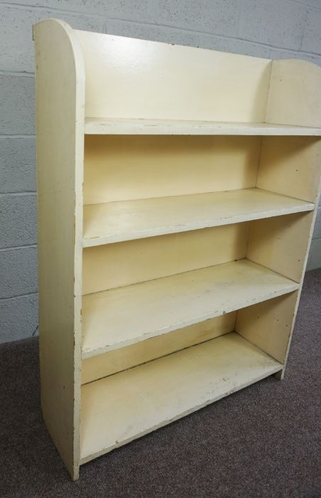 Painted Bookcase, 123cm high, 92cm wide, 31cm deep - Image 2 of 4