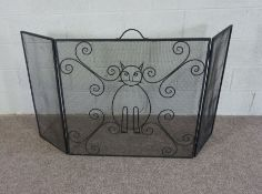 Large Fireguard with intricate design