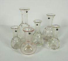 Collection of Richardsons Patent Glass Measures, Comprising of a Large Measure, One Gill, Two Half