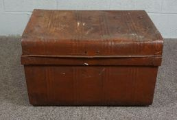 Tin Trunk from WWII
