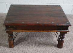 A Modern Oak Coffee Table