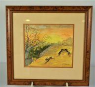 Three Watercolours by W. Turnbull (3)