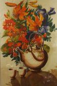 """Still Life of Flowers"" Watercolour, 72cm x 46cm"