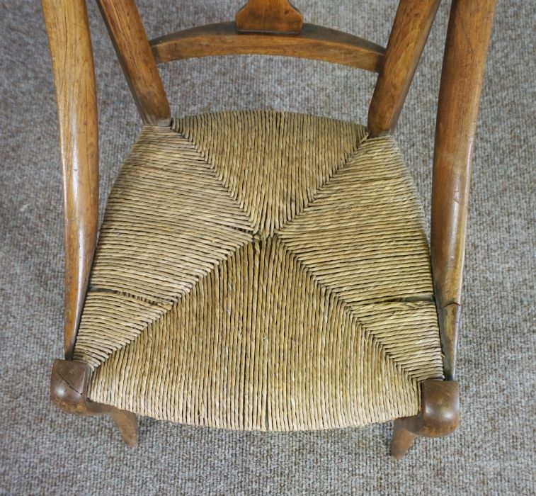 Childs Wicker Chair, made in Mellerstain 1965 - Image 2 of 5