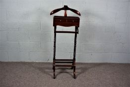 A Mahogany Gentleman's Stand , Circa 1920's in late Victorian style.