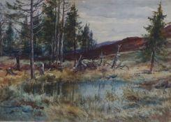 "Edward Arden Tucker ""Windermere"" Watercolour, 27.5cm x 38.5cm"