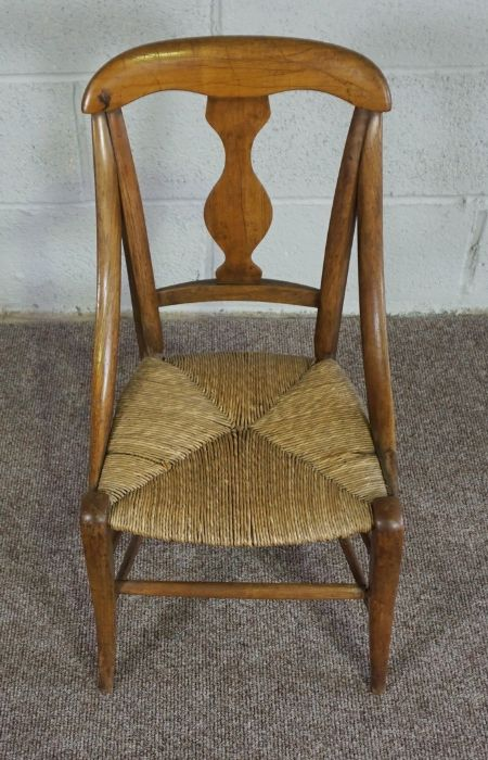 Childs Wicker Chair, made in Mellerstain 1965