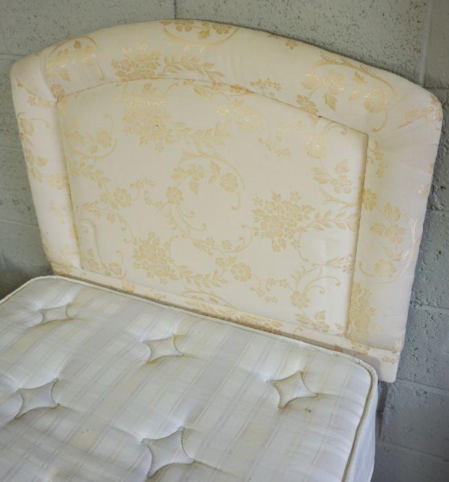 Pair of Divan Single Beds, 195cm long (2) - Image 4 of 8