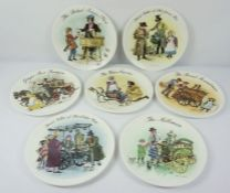 Six Wedgwood Limited Edition Picture Plates by John Finnie, With certificates, 21.5cm diameter (6)
