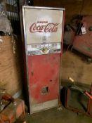 1955 COCA-COLA 6-OPTION COIN-OP. SODA DISPENSER, 1 PH.