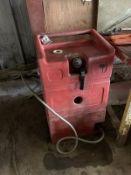 GOODALL GAS WALKER PORT. POLY GAS CADDY, 25-GAL. CAP.