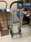 GLOBAL 4-WHEEL ALUM. CONVERSION HAND TRUCK, 500# CAP.
