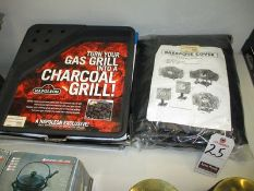 BARBEGUE GAS GRILL COVER