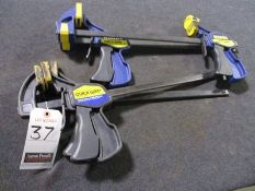 """IRWIN QUICK GRIP 12"""" BAR CLAMPS"""