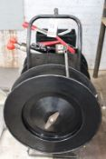 GLOBAL PORT. METAL STRAPPING MACHINE W/ TOOLS