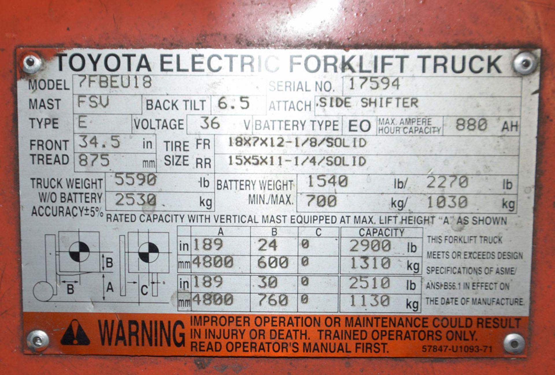 Forklift - Image 8 of 8