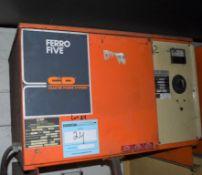 (1) C&D Technologies 36 Volt Battery Charger, Model FR18HK640, Serial# IPI885334.