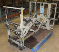 (1) Cascade Push Pull Forklift Attachment, Model 35E-QPB-Q002R3, Serial# PTL902217-1R3.