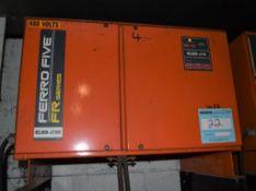 (1) C&D Technologies 36 Volt Battery Charger, Model FR18HK750S, Serial# LP868049.