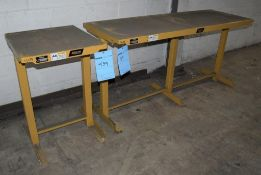 Lot Of (2) BHS Battery Handling Systems Battery Charger Stands, (1) Model CS-72, Serial# B0170600, (