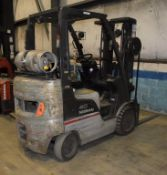 (1) Nissan 40 LP Forklift, Model MCPL02A20LV, Serial# CPL02-9P5391. Reported to have a transmission