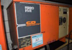 (1) C&D Technologies 36 Volt Battery Charger, Model FR18HK640, Serial# EPI893549.