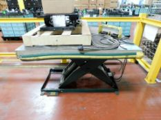 "Southworth Products Corp. 1,500 # Capacity 48""x 48"" Hydraulic Lift Table, Model LS2-36, Serial # M02"