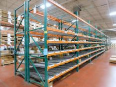 (20) Sections of Pallet Racking, Approsimate 8' x 4' x 12'., and (2) Sections Approximate 12' x 4' x